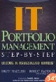 IT Portfolio Management: Unlocking the Business Value of Technology (otevře se v tomto okně)